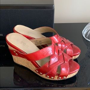 Metoo Jafar Platform Wedges